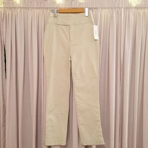 🆕 UO high waisted cream pants with vents